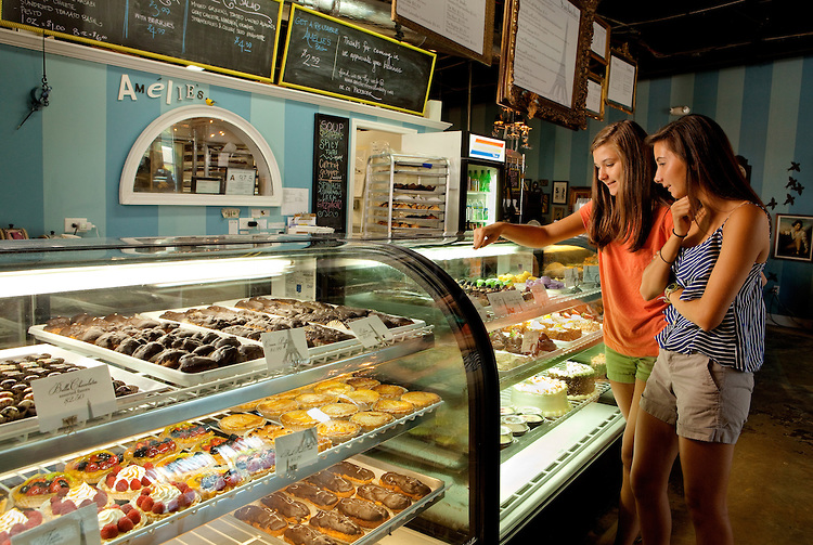 NoDa North Davidson Street's Amelie's French Bakery Charlotte NC